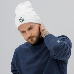 knit beanie white front 603c46898e562